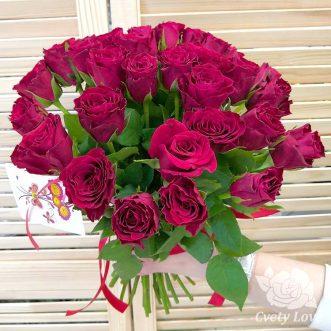 Букет из 31 кенийской розы